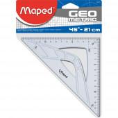TRIKOTNIK 45° 21cm MAPED GEOMETRIC