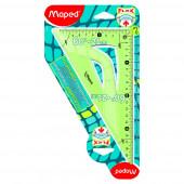 TRIKOTNIK 60° 21cm MAPED FLEX