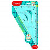 TRIKOTNIK 60° 26cm MAPED FLEX