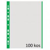 VLOŽEK A4 0,04mm DONAU ZELEN ROB 100/1