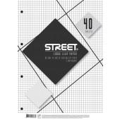 VLOŽNI LISTI A4 MALI KARO STREET 40/1
