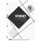 VLOŽNI LISTI A4 ČRTNI STREET 40/1