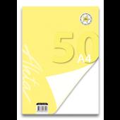 VLOŽNI LISTI AKTA A4 BREZČRTNI 50/1 13.146