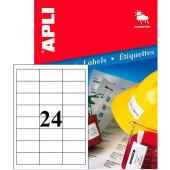 VODOODPORNE BELE ETIKETE APLI 64,6x33,8 20/1