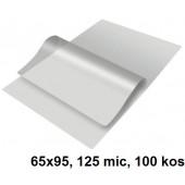 ŽEPKI ZA PLASTIFICIRANJE KLIPKO 65x95mm 125mic 100/1