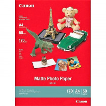 FOTO INK JET PAPIR CANON MP-101 MAT PHOTO A4 170g 7981A005AC 50/1