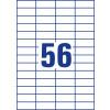 ETIKETE SOREX 52,5x21,2 100/1