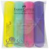 TEKSTMARKER FABER CASTELL 46 PASTEL SET 4/1