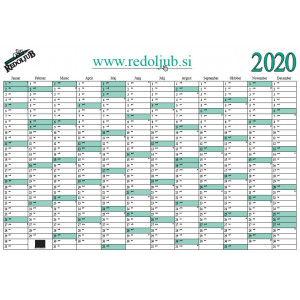 Letni planer 2020